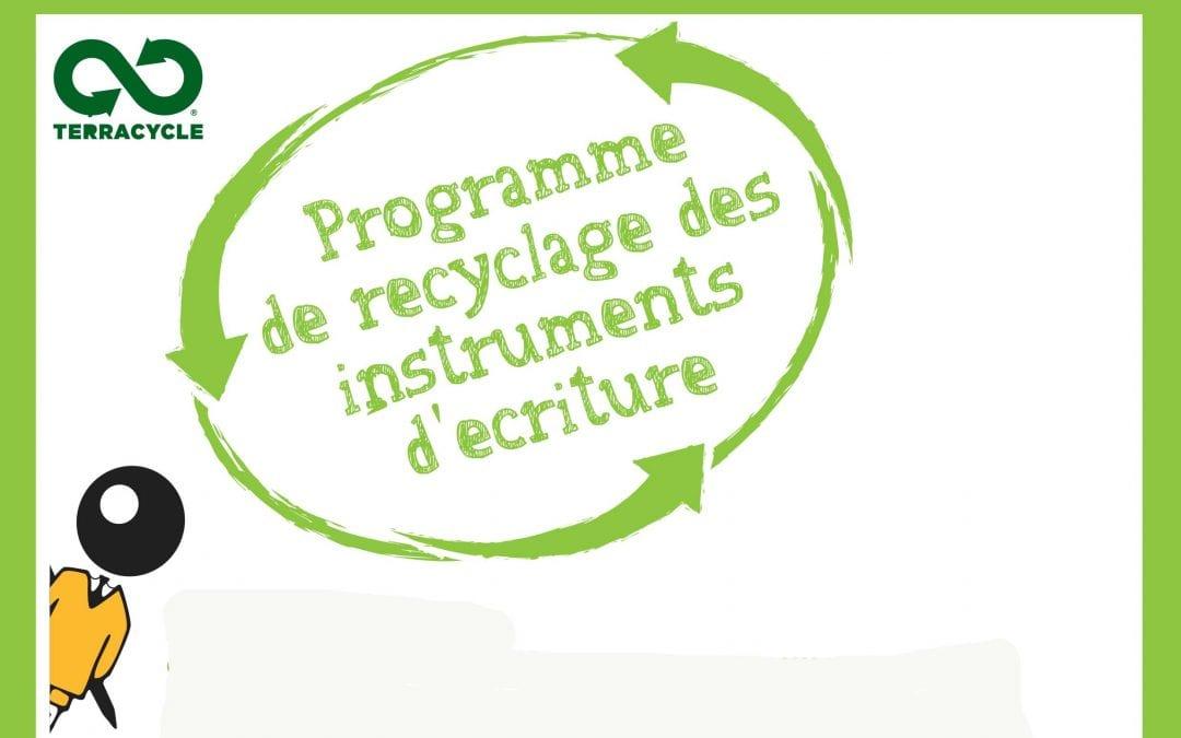 CP/CE1 recyclage d'outils d'écriture