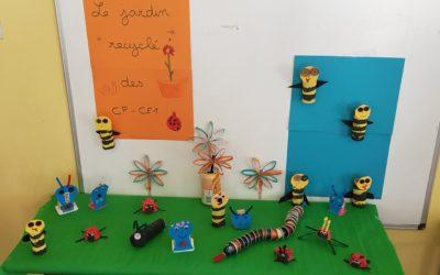 """Le jardin """"recyclé"""" des CP/CE1"""
